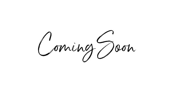 This is an image of the words 'coming soon'