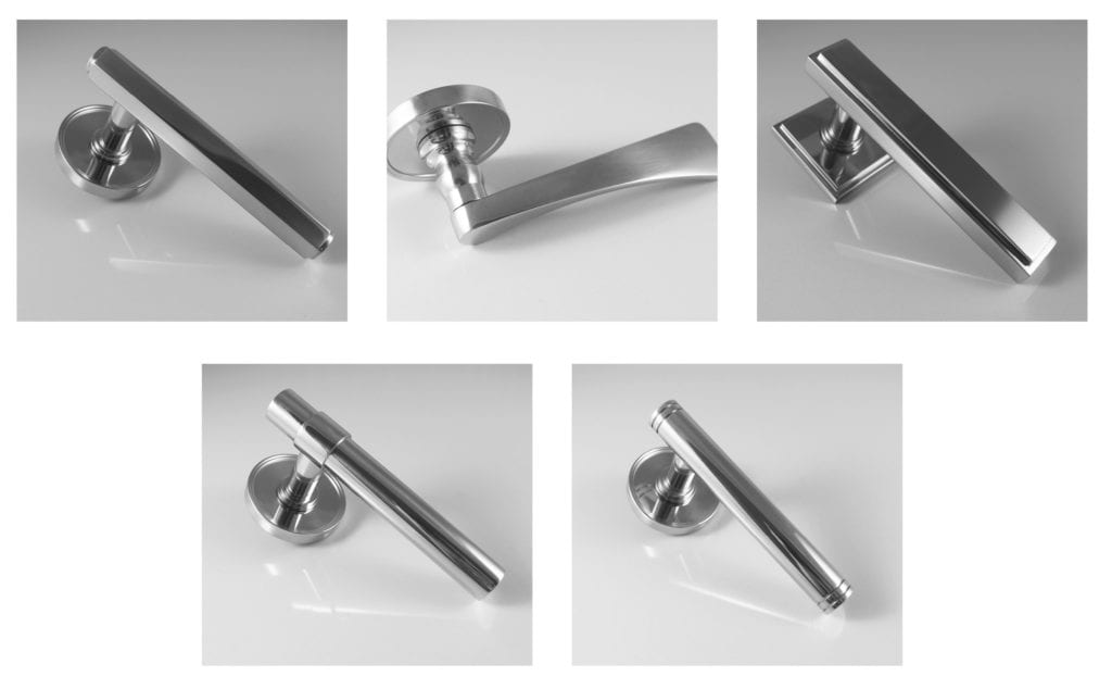 brassrat new modern lever on concealed roses door handles on roses architectural ironmongery