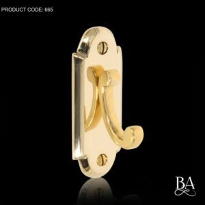 Constable Plate Robe Hook