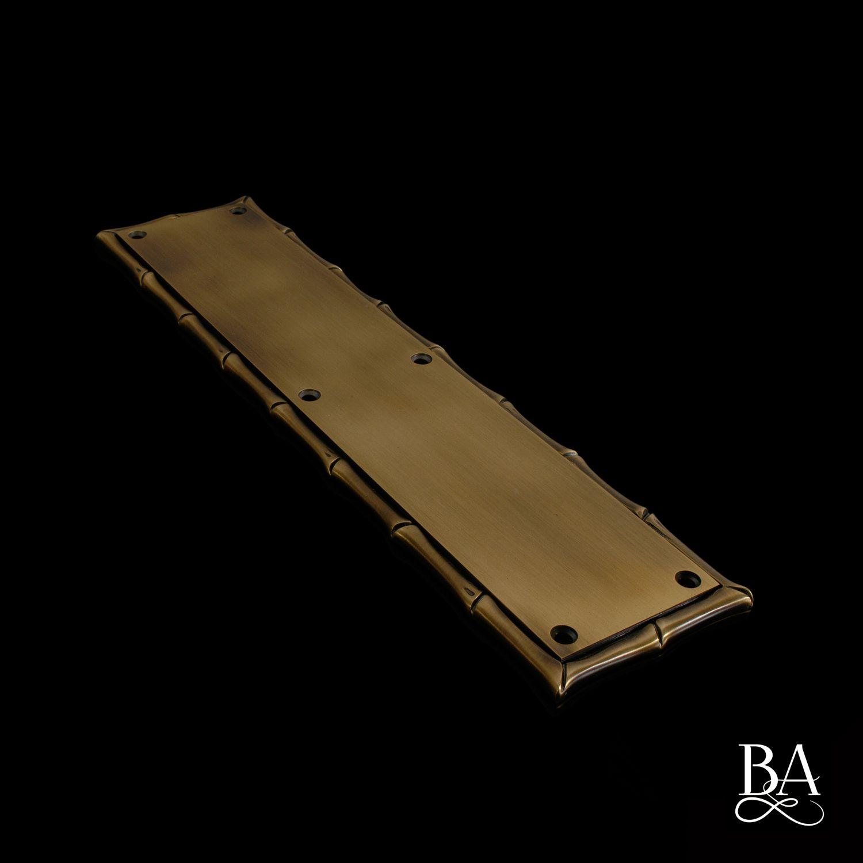 Bamboo Push Plate