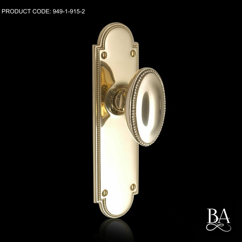 Princess Oval Door Knob